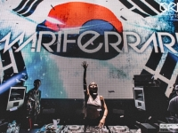 Mari Ferrari<br>Club Grid, Busan, Korea<br>1st May 2015