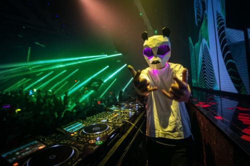 Pink Panda / Dr Oscar Kunming China / 2 Jan 2021