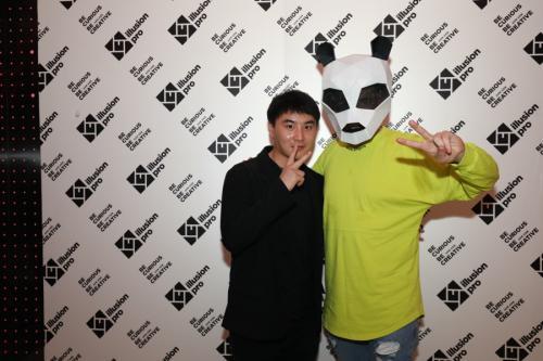 Pink Panda / Pro Nightclub Wuhan China / 26 March 2021